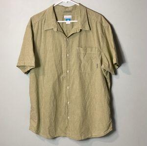 Columbia Sportswear button up shirt Size XL